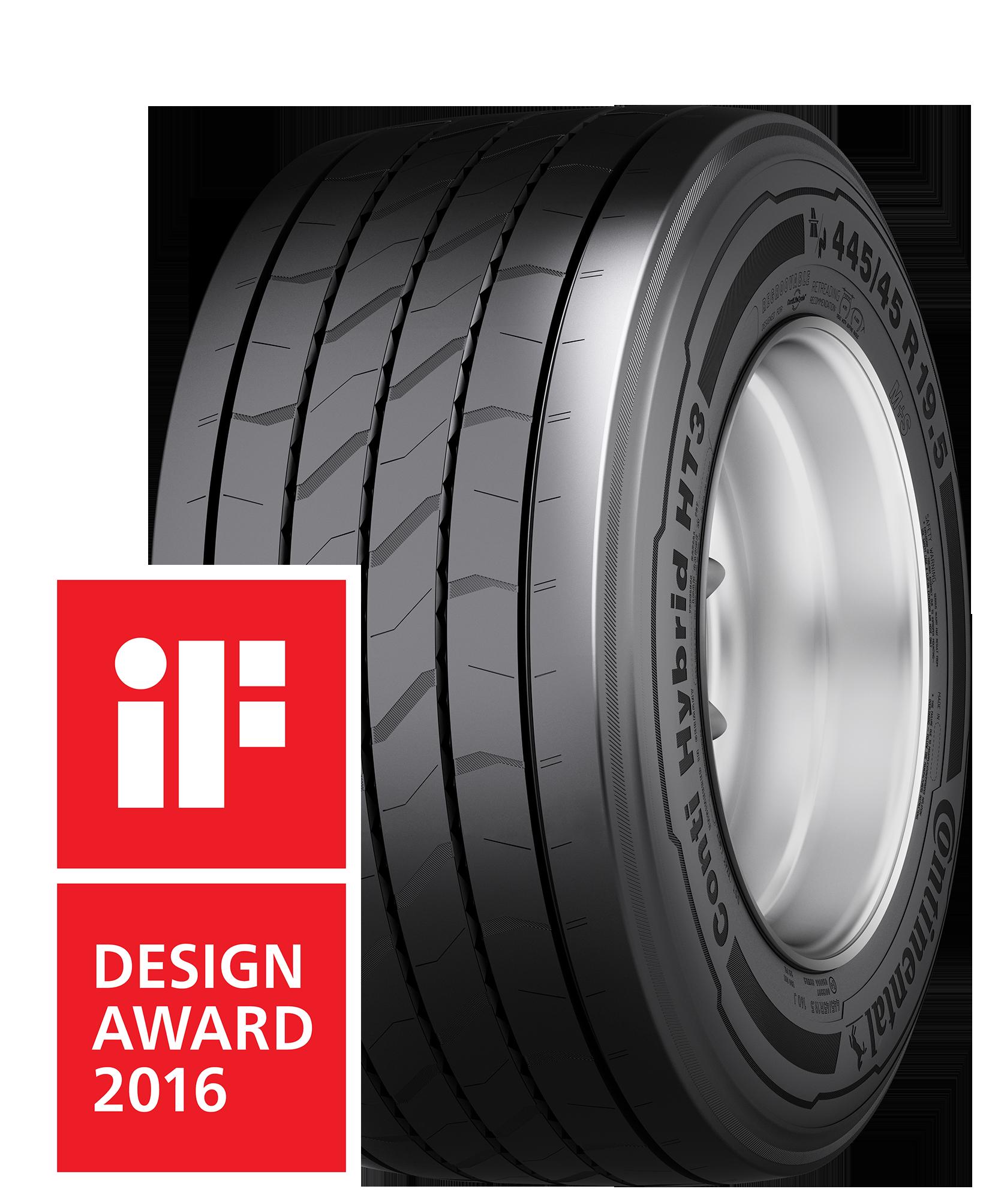 Rojas Auto Group >> Trailer-Reifen Conti Hybrid HT3 mit iF-Design-Award ausgezeichnet