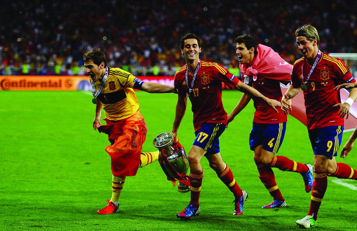 UEFA EURO 2012™ - WINNERS