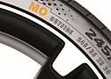 Esempio di pneumatici OE per Mercedes.