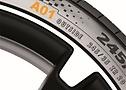 Esempio di pneumatici OE per Audi.
