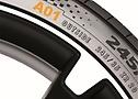 Une example d'un pneu OE pour Audi