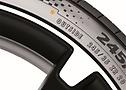 Une example des pneus OE pour BMW