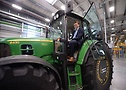 Nikolai Setzer on Tractor