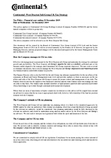 Continental Teves Tax Strategy