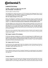 Continental - Contitech UK Ltd UK Tax Strategy
