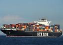 NYK Virgo auf der Elbe