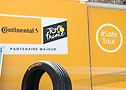 Continental is a main partner of Tour de France