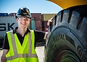 Frederik Elgert, product developer OTR and Material Handling Tyres