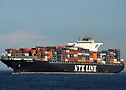 NYK Virgo on the Elbe