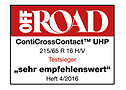 Off Road 2016 ContiCrossContact UHP sehr empfehlenswert
