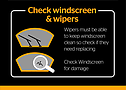 MOTisery - Check windscreen & wipers