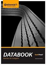 Capa Databook bandas de rodagem Continental (arte com foto da banda de rodagem esticada)
