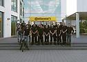 Das gesamte Team vor dem HPTC Korbach