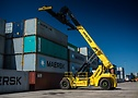 Reach Stacker con ContainerMaster+ in Doncaster