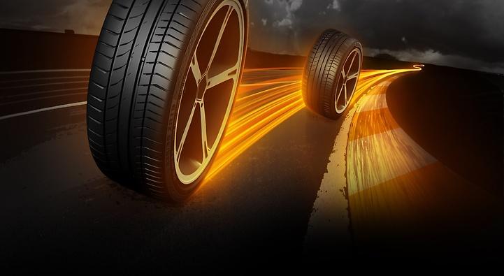 Foto do pneu ContiSportcontact 5 - Ilustração - 9
