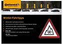 Winter-Fahrtipps sind nützliche Informationen für eine sichere Fahrt.