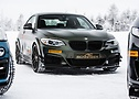 Nel test invernale: la BMW X4 M40i – Hamann tuning.