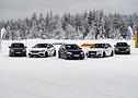 Tutte le cinque vetture elaborate montavano gli stessi pneumatici Conti Winter Contact TS 860 S nella misura 235/35 R 19.