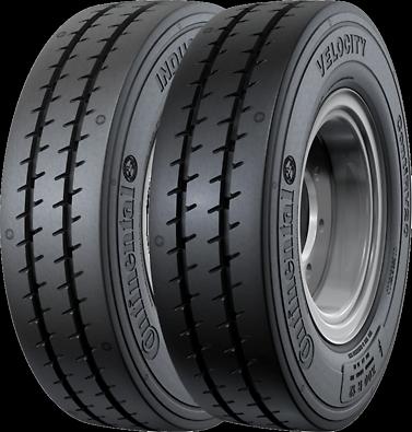 Solução em Pneu de Aeroporto - ContiRV20 | Velocity-Industrial (Fotos dos pneus visão diagonal)