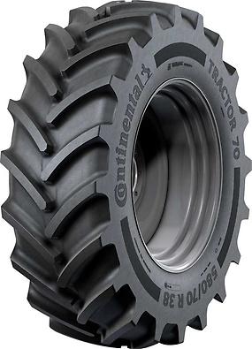 Continental Tractor70 (foto pneu na visão diagonal)