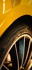 Mercedes A35 com pneus ContiSportContact 5