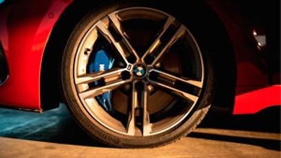 BMW M135i com pneu ContiSportContact 5