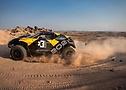 El coche de  Extreme E Odyssey 21 en acción.