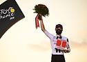 """Marc Hirschi ganando el """"más combativo"""" con neumáticos Continental - Tour de France 2020 - A.S.O. Pauline Ballet"""