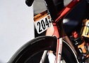 Rider plate of Marc Hirschi from Team Sunweb at Tour de France 2020 - A.S.O._Pauline_Ballet