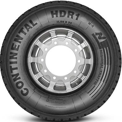 HDR1: Pneu trativo - Mercadoria (Foto visão lateral)
