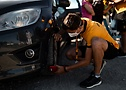 Команда сопровождения Continental проверяет шины на Тур де Франс 2020 - A.S.O. Thomas Maheux