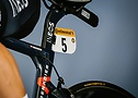 Табличка велогонщика Михал Квятковски из команды Ineos - A.S.O. Pauline Ballet