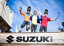 Suzuki Nine Knights 2015_day6_lifestyle_Sam Reynolds, Sam Pilgrim, Peter Henke_david malacrida_distillery