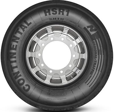 HSR1: Pneu Direcional - Mercadoria (Foto visão lateral)