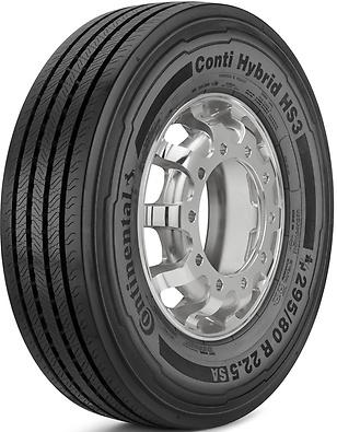 Conti Hybrid HS3: Pneu direcional - Mercadoria 295/80 R22.5 (Foto visão diagonal)