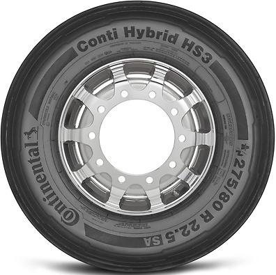 Conti Hybrid HS3: Pneu direcional - Mercadoria 275/80 R22.5 (Foto visão lateral)