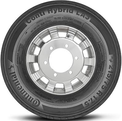 Conti Hybrid LA3: Todos eixos - Mercadoria (Foto visão lateral)