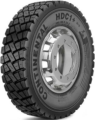 HDC1+ : Pneu trativo - Construção - 295/80 R22.5 (Foto visão diagonal)