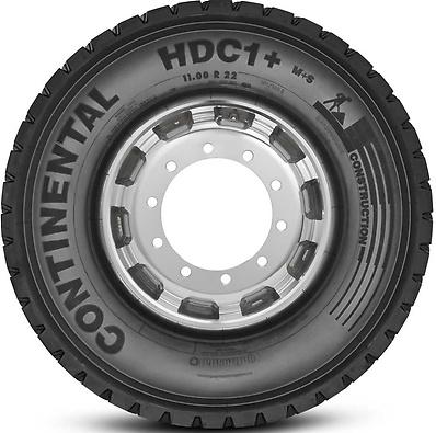 HDC1+ : Pneu trativo - Construção - 11.00 R22.5 (Foto visão lateral)