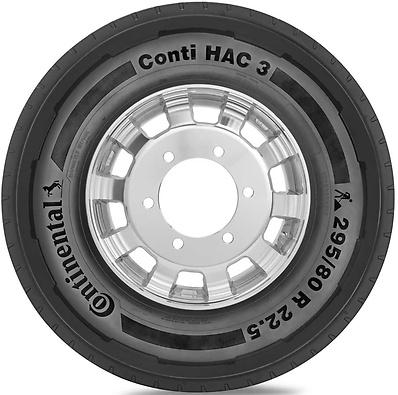 Conti HAC 3: Pneu todos eixos - Canavieiro / Madeireira (Foto visão lateral)