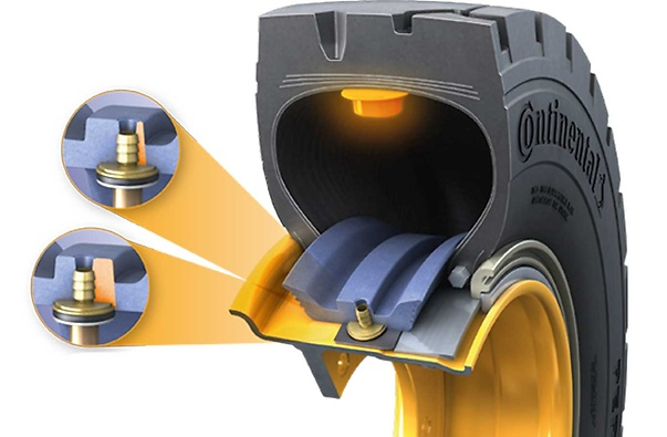 Continental Tubeless Sealing Ring (TSR) - 3 (foto 3D de corte do pneu com anel aplicado)