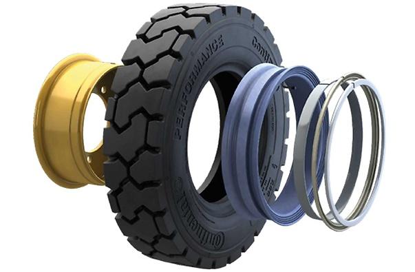 Continental Tubeless Sealing Ring (TSR) - 4 (foto 3D de corte do pneu com anel aplicado)