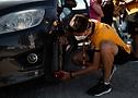 La brigade Continental teste des pneus au Tour de France 2020 - A.S.O. Thomas Maheux