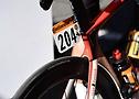 Plaque de coureur de Marc Hirschi de l'équipe Sunweb au Tour de France 2020 - A.S.O. Pauline Ballet