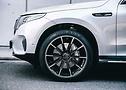 Detailansicht Mercedes EQC Outdoor auf BRABUS Monoblock Z Rädern | Continental