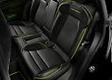 Detailansicht Rücksitzbank des Porsche Taycan im TECHART Design | Continental