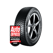 AllSeasonContact™ is awarded 'Best All-Season Tyre' in the Auto Express Product Awards 2021