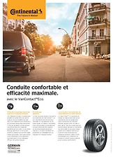 Page produit VanContact™ Eco