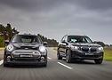 Frontansicht Mini Cooper und BMW X3 von ACSchnitzer beim 41. ContiTuningTag | Continental