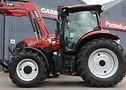Case Maxxum 115 equipado con los neumáticos Continental Tractor70.